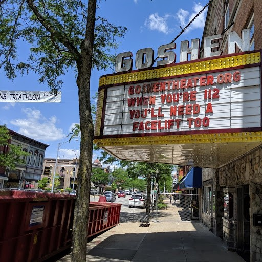 Current renovations at The Goshen Theater