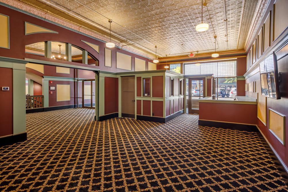 North Lobby - The Goshen Theater, Goshen, Indiana